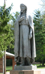 Mary Jemison statue (Buchanan Valley, Adams County)