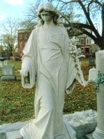 Statue of the Walking Ghost (Lancaster Cemetery, Lancaster County)